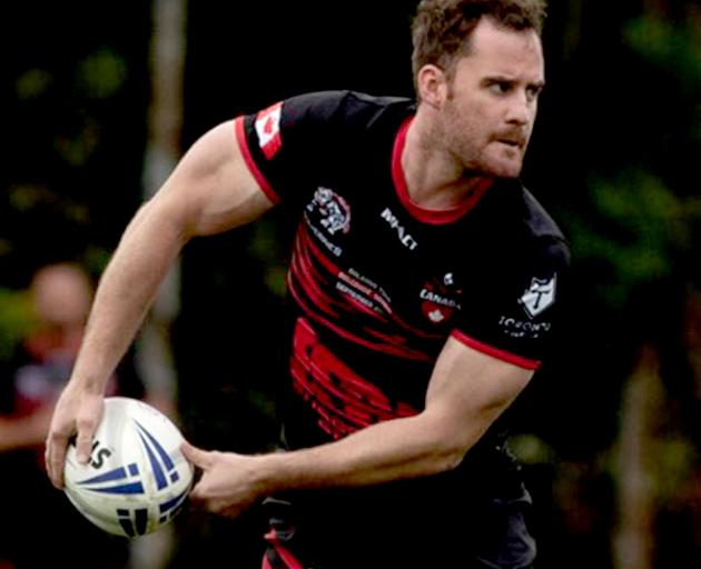 Brad Austin represented Canada in Serbia on Saturday. On Tuesday he was back at Canterbury Bulls...