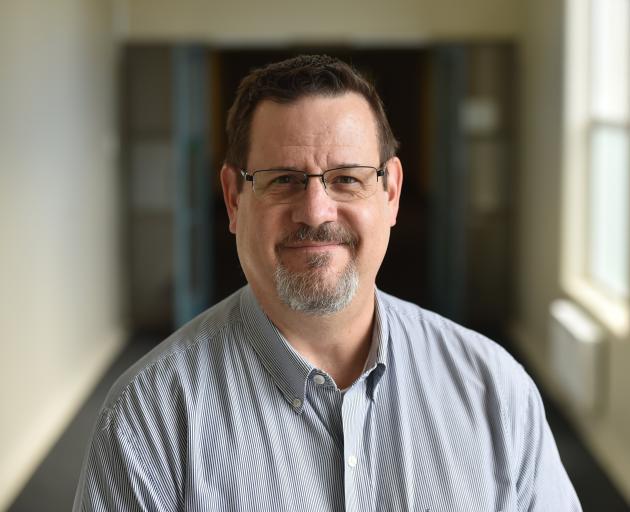 Dr Brad Strong. Photo: Gregor Richardson