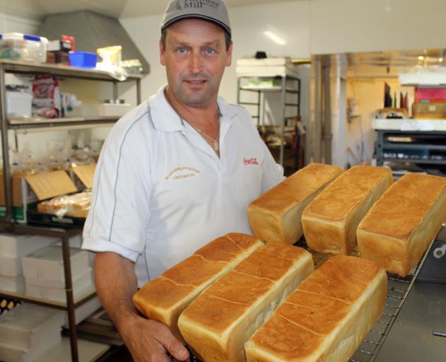 Baker Chris Blanchfield has increased bread production.PHOTO: PAUL MCBRIDE