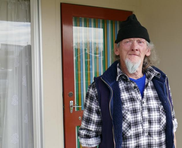 Clutha District Council Owaka community housing tenant Kevin Corby says an anticipated 90% rent...