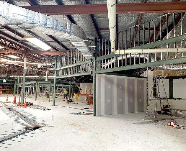 The three year expansion of Bush Inn Shopping Centre is nearing completion.