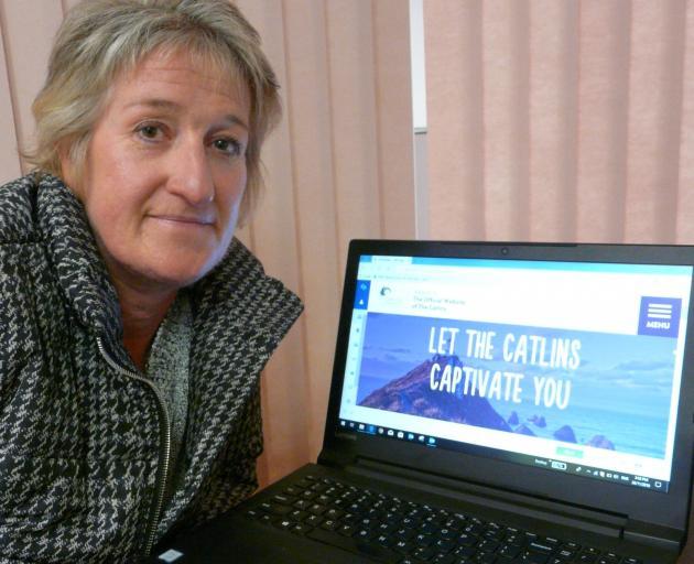 Catlins Coast Inc project coordinator Lisa Biginato. Photo: Richard Davison