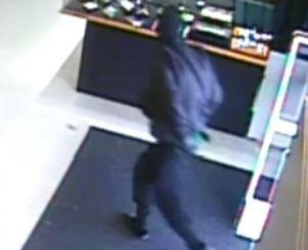 Masked offenders stole more than $40,000 in jewellery from the Pawn Shop on Blenheim Rd. Photo: CCTV