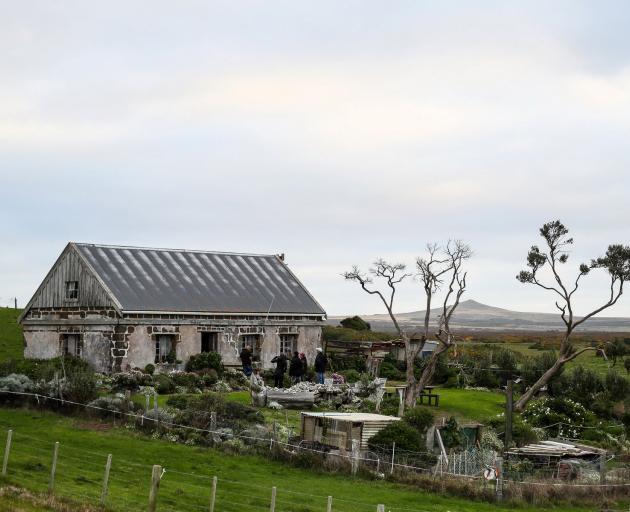 Local identity Helen Bint's stone cottage at Maunganui. PHOTO: SIMON WATTS/BWMEDIA