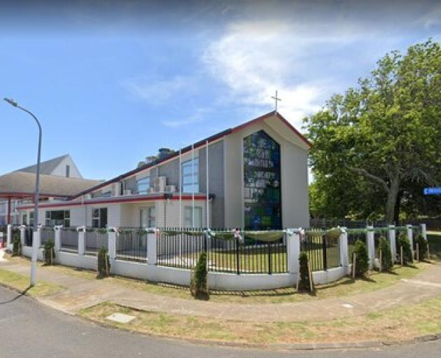 The church congregation at the Christian Church of Samoa Māngere East Puaseisei, on Winthrop Way,...