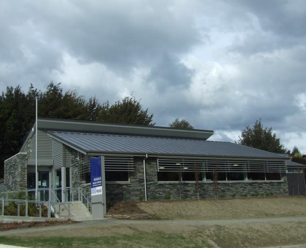 The Wanaka Police Station. Photo: Central Otago News