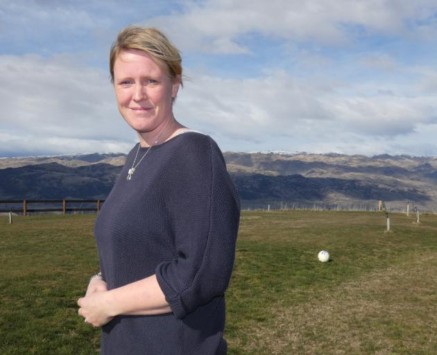 Katherine Andrew, of Cromwell, is looking to the future after the challenges of cancer.PHOTO:...