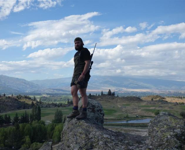 Cromwell-born Lee Murray now spends his time between hunting in Central Otago and playing rugby...