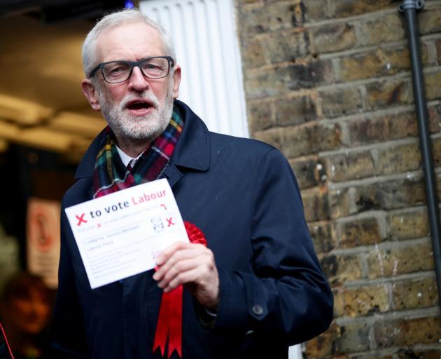 Labour leader Jeremy Corbyn. Photo: Reuters