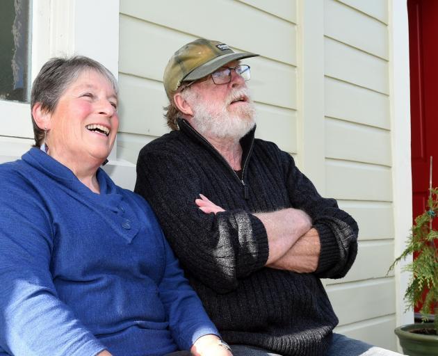 Maria Barta and Jim Hinkley.