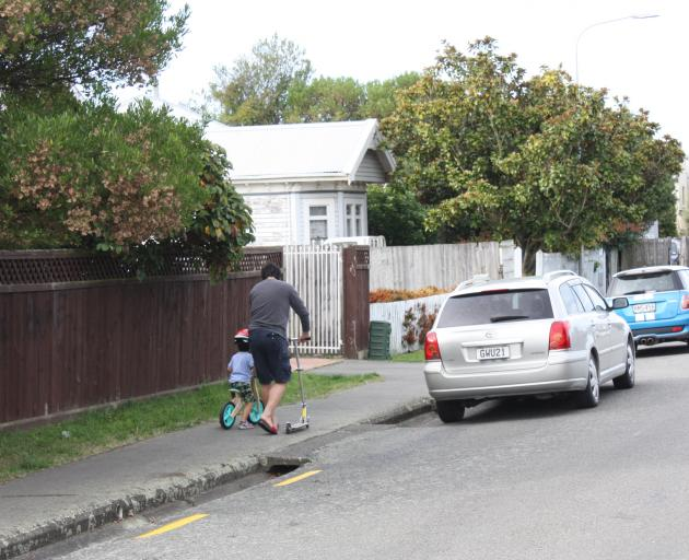 This Riccarton duo traded their walking shoes for wheels.