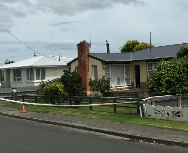 An Incercargill house where a person was seriously injured in an altercation yesterday was...