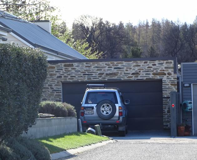 The holiday home in Wanaka. Photo: ODT