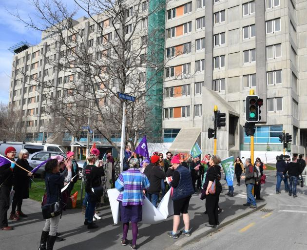 The Dunedin Hospital rebuild has proved to be a controversial and drawn-out process. Photo:...