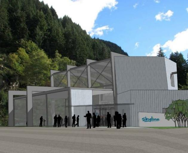 The upgrade will include a new terminal building at the base of the gondola. Photo: Skyline...