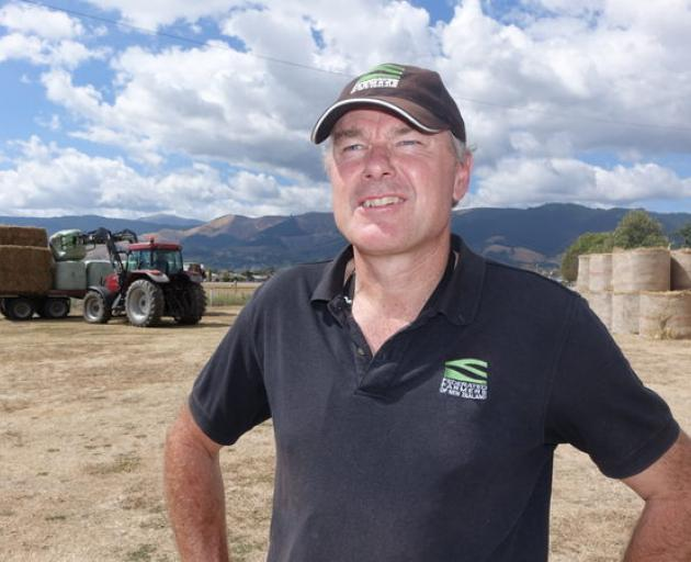 Harry Matthews of Federated Farmers at the Richmond Showgrounds. Photo: RNZ
