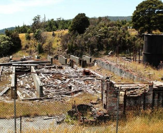 The old Prohibition Mine at Waiuta. Photo: Doc