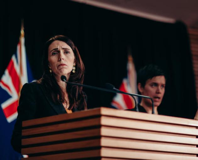 Jacinda Ardern stands by her actions over the handling of the sexual assault allegations. Photo:...