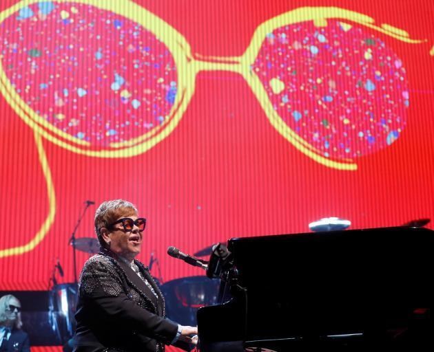 埃尔顿约翰爵士正在进行他的最后一次巡演。照片:Getty Images