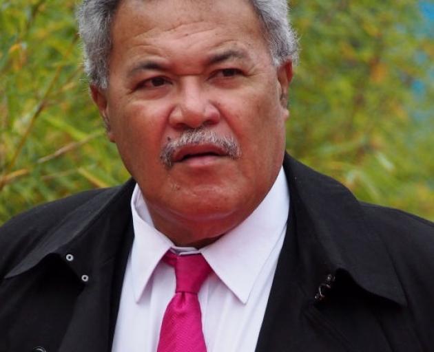 Tuvalu Prime Minister Enele Sopoaga. Photo: Getty Images