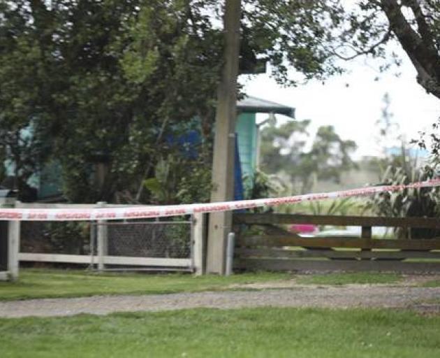 The girl's body was found yesterday at Little Waihi, Maketu. Photo via NZ Herald