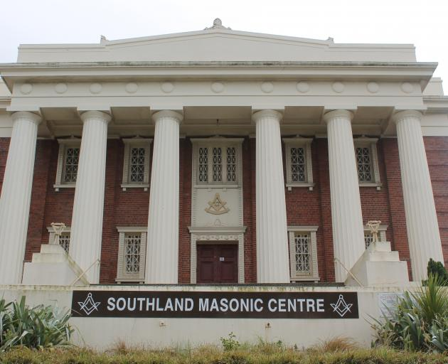 The Southland Masonic Centre. Photo: Southland Express