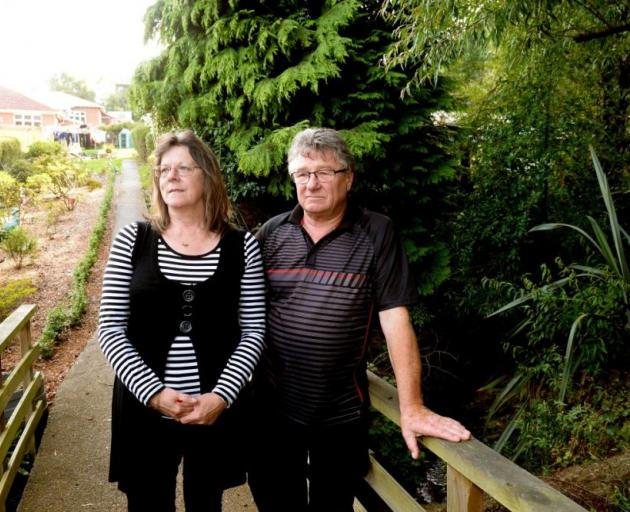 Kevin Rochford and Rose Bray's plans are in limbo after a ''laughable'' payout offered by the Earthquake Commission. Photo by Linda Robertson
