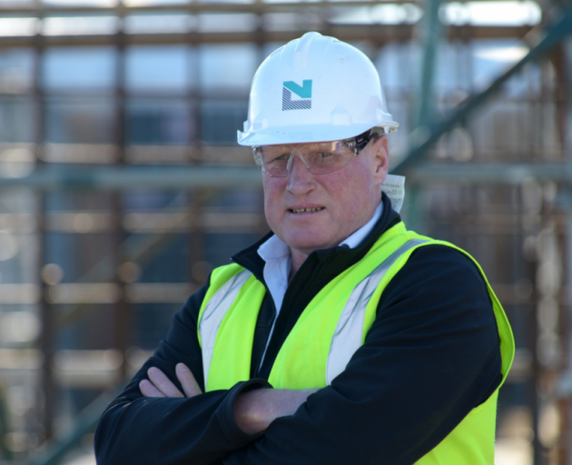 Paying the price . . . Ewen Oats says he was unaware  of the health risks associated with asbestos when working as a young builder in Dunedin in the 1970s. PHOTO: GERARD O'BRIEN