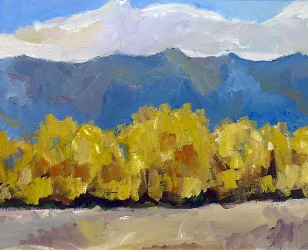 """Mackenzie #23: Lake Poaka 5"", by Baden French."