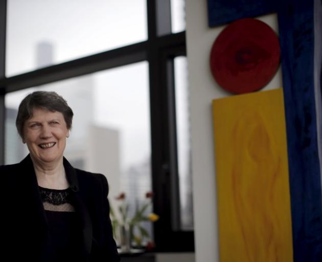 Helen Clark currently has the third top job at the UN. Photo: Reuters