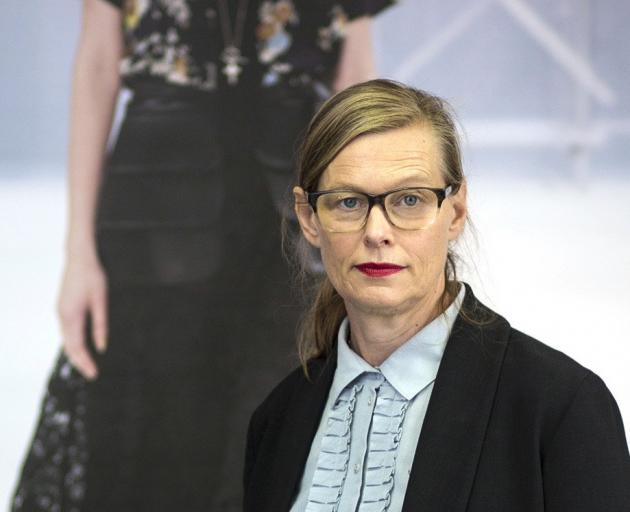 Kate Sylvester was a judge and showed her latest collection at Fashion Week. Photo: supplied