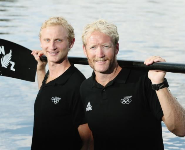 """Hamish Bond (left) and Eric Murray: """"Enormous respect"""" for each other. Photo: Getty Images"""
