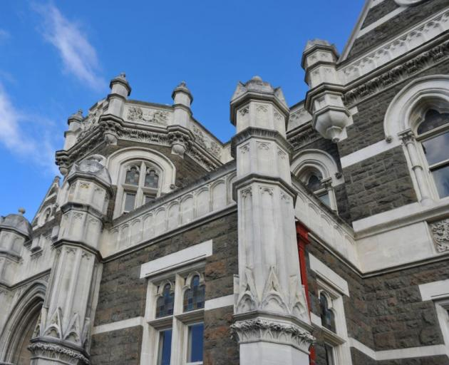 The courthouse was declared an earthquake risk in 2011. Photo: ODT
