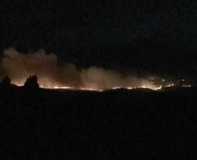 Ten helicopters are involved in fighting a Central Otago blaze which spread to cover 280ha...