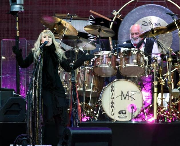 Fleetwood Mac in concert at Dunedin's Forsyth Barr Stadium in November 2015. Photo: Gregor...