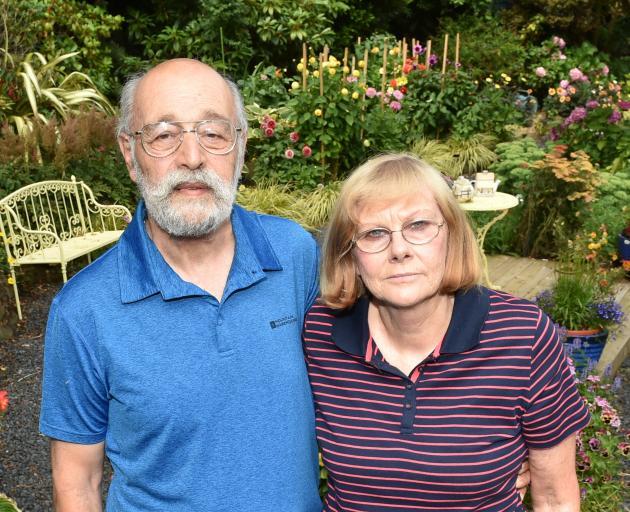 Alex and Cathy Shemansky. Photo: Gregor Richardson