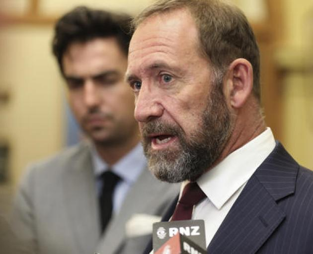 Justice Minister Andrew Little. Photo: RNZ