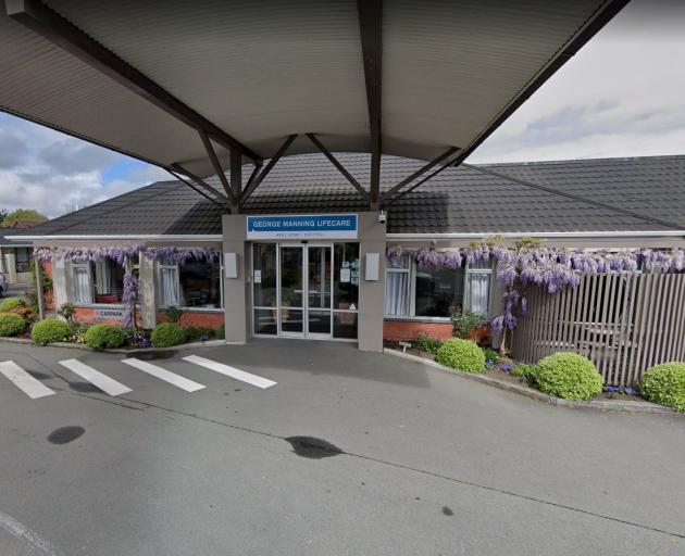 George Manning Lifecare & Village in Spreydon. Image: Google Maps