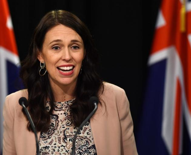 Jacinda Ardern denied she was struggling to keep up with her job. Photo: Getty Images