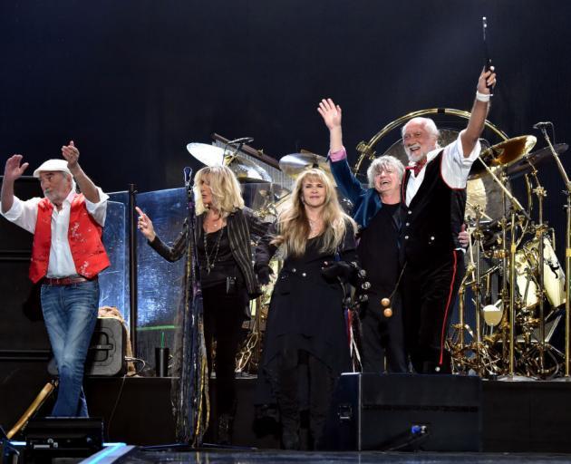 Neil Finn with Fleetwood Mac in Las Vegas last year. Photo: Getty Images
