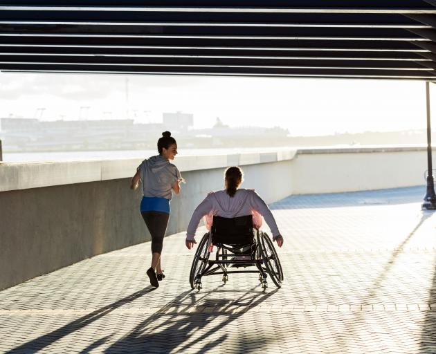 Disabilities range from the visible to the partially visible to the utterly invisible. PHOTO:...