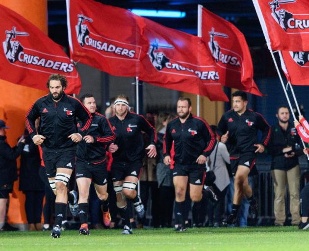 The Crusaders have held the name since Super Rugby began in 1996. Photo: Getty Images