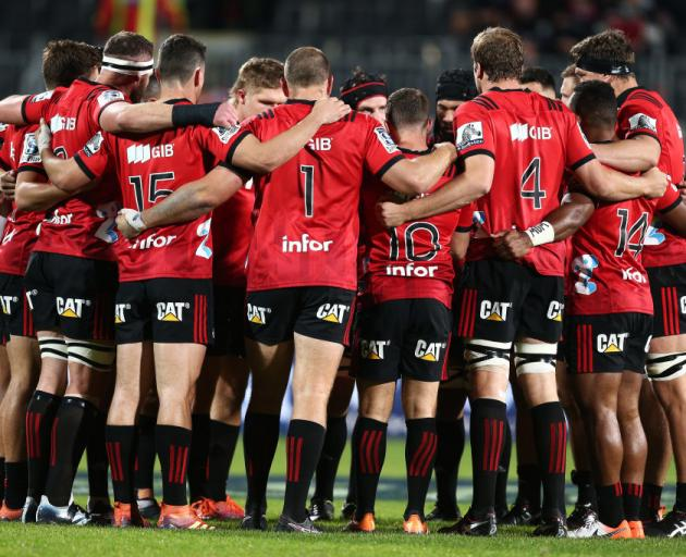 The Crusaders are to meet with management today. Photo: Getty Images