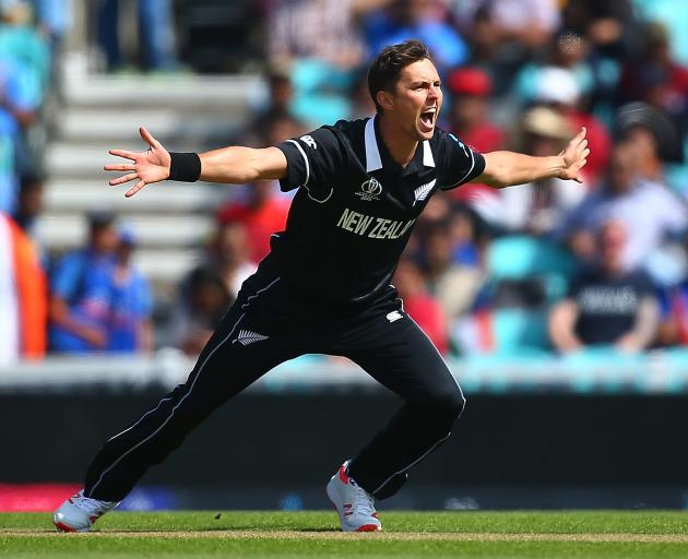 Trent Boult ripped the top off the Indian batting line-up, showing good form before the World Cup...