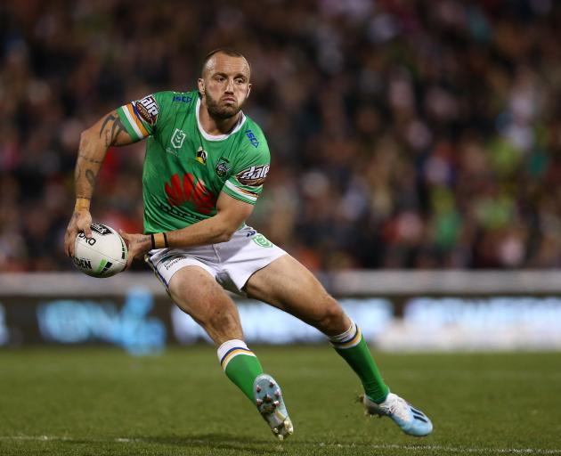 Josh Hodgson, of the Raiders. PHOTO: GETTY IMAGES
