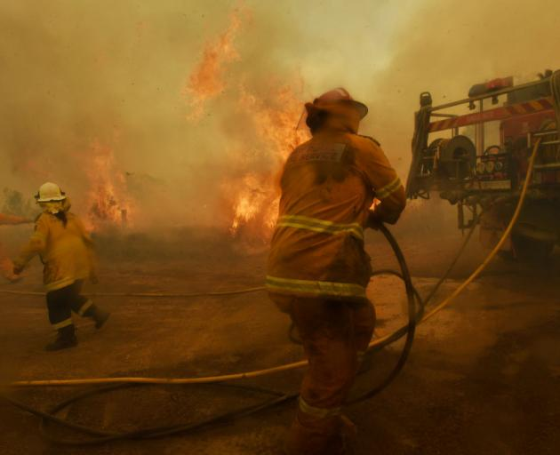 The fire season has started early in many states of Australia. Photo: Getty Images