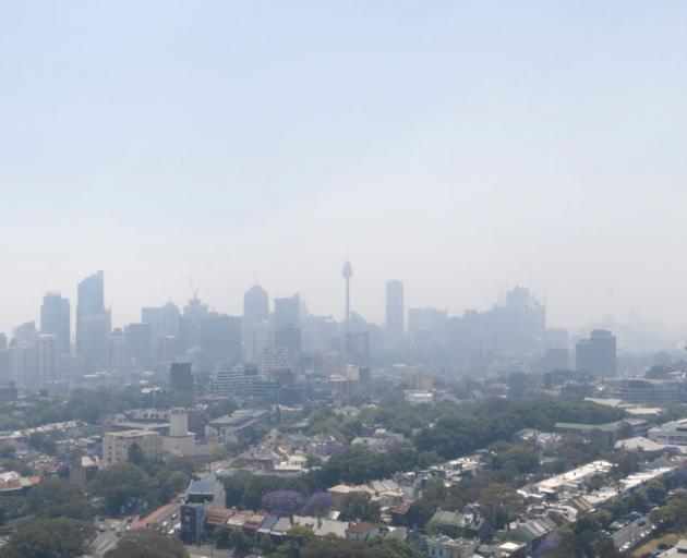 The smoke haze that blanketed central Sydney on Tuesday is expected to continue into Wednesday....