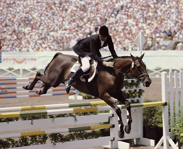 Todd riding Charisma at the 1984 Olympics in Los Angeles. Photo: Getty Images