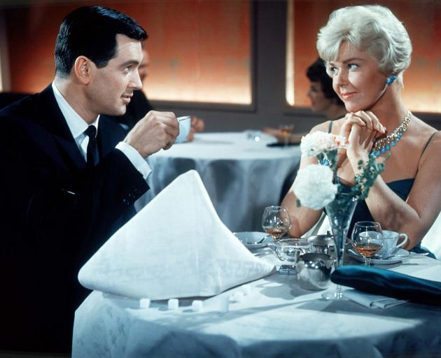Doris Day with Rock Hudson in 1959's Pillow Talk. Photo: Silver Screen Collection via Getty Images