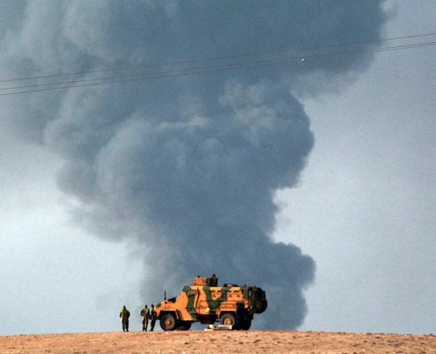 US-led coalition forces in Syria. PHOTO: GETTY IMAGES